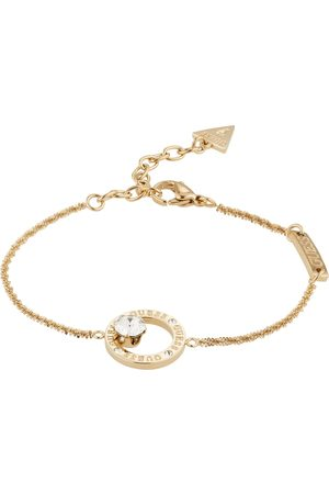 Guess Armbånd 'PRONG CRYSTAL IN CIRCLE BRACELET(GL)
