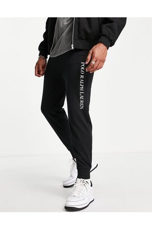 Polo Ralph Lauren Jogger with side text logo in black