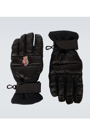 Moncler Herre Hansker - Technical logo gloves