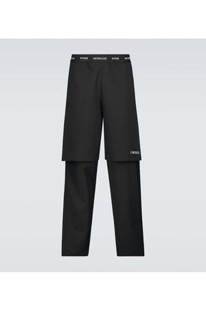 Moncler Genius 4 MONCLER HYKE logo waistband pants