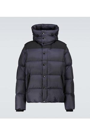 Burberry Nylon hooded puffer jacket