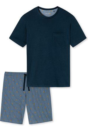 Schiesser Herre Pyjamaser - Pyjamas kort 'Fashion Nightwear