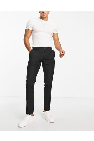 French Connection Smart trousers in skinny fit-Black