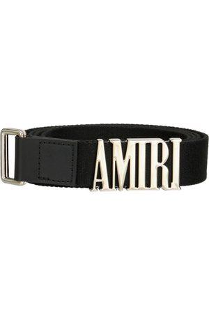 AMIRI Herre Belter - 3cm Logo Skater Webbing Belt