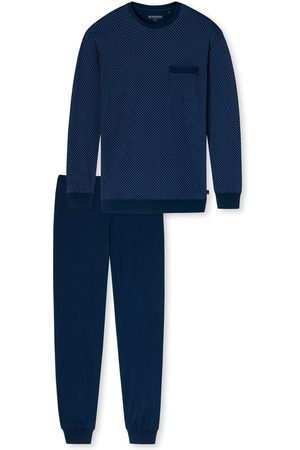 Schiesser Herre Pyjamaser - Pyjamas lang 'Fashion Nightwear