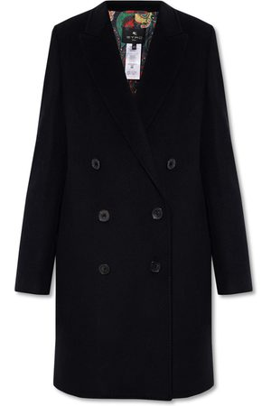Etro Double-breasted wool coat