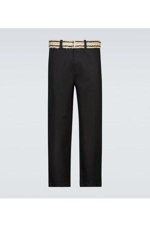 ADISH Belted cotton pants