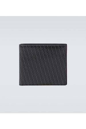 Fendi FF leather wallet