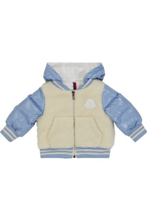 Moncler Baby fleece and down jacket