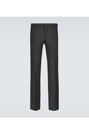 Fendi FF wool-blend formal pants