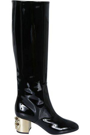 Dolce & Gabbana DG-Heel Knee-Length Boots