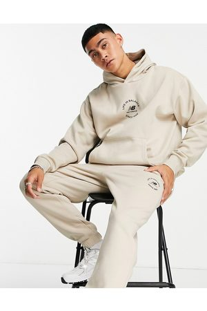 New Balance Life in balance joggers in oatmeal-Neutral