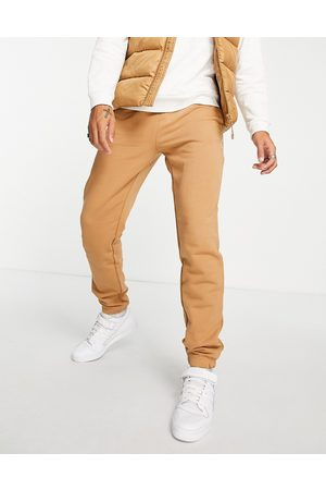 Parlez Halcyon embroidered joggers in brown
