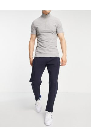 New Look Slim fit smart jogger in navy