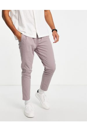 ASOS Cigarette fit chinos in light purple