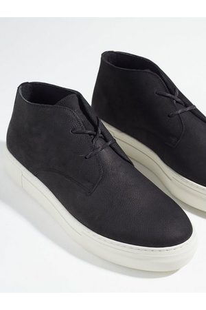 SELECTED Herre Støvler - Slhdavid Chunky Nubuck Chukka B Sneakers Black