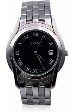 Gucci Pre-owned Stainless Steel Mod 5500 Wrist Watch