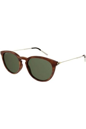 Gucci Tortoiseshell sunglasses with colored lenses