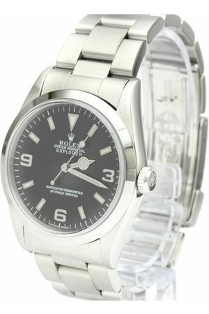Rolex Pre-owned Explorer I Automatic Stainless Steel Men's Sports Watch 14270