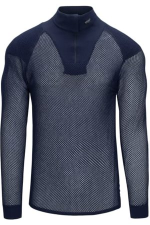 Brynje Super Thermo Zip Polo Shirt with Shoulder Inlay
