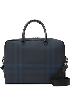 Burberry Herre Porteføljer - London check briefcase