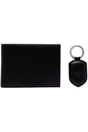 Emporio Armani Herre Lommebøker - Folded leather wallet and tag