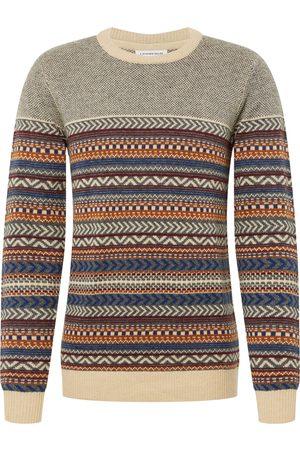 Lindbergh Herre Strikkegensere - Genser 'Jacquard knit