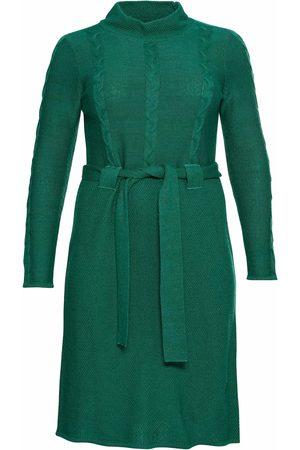 Sheego Dame Strikkede kjoler - Strikkekjole