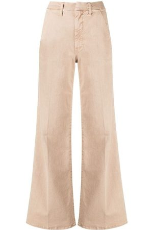 Mother The Roller Prep wide-leg jeans