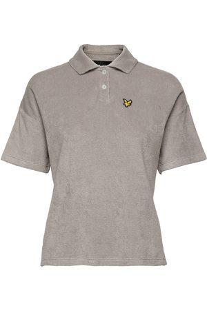 Lyle & Scott Dame Kortermede - Boucle Polo Shirt T-shirts & Tops Polos