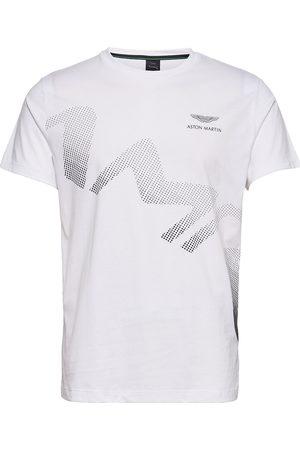 Hackett Amr Astro Logo Tee T-shirts Short-sleeved