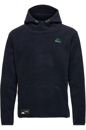 Superdry Mountain Sport Fleece Hood Sweat-shirts & Hoodies Fleeces & Midlayers Svart