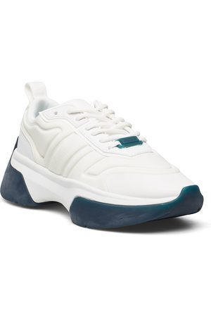 Calvin Klein Dame Sneakers - Statement Lace Up Flexy Upper Lave Sneakers