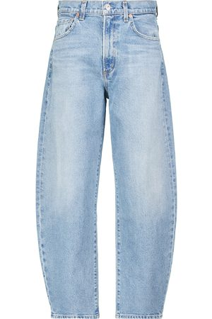 Citizens of Humanity Calista Curve high-rise tapered jeans