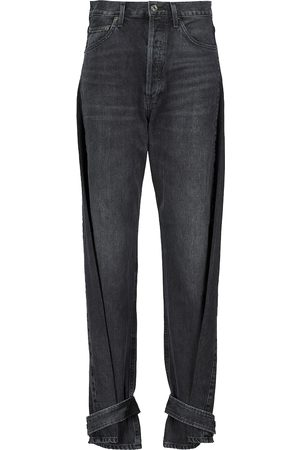 AGOLDE High waist - Cleo high-rise tapered jeans