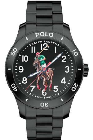 Polo Ralph Lauren 42mm Automatic Pony Player Black Dial