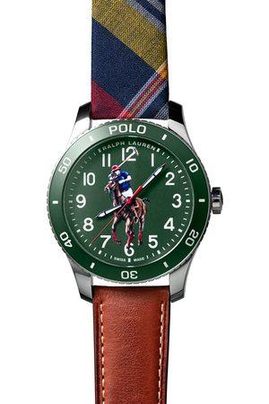 Polo Ralph Lauren Herre Klokker - 42mm Automatic Pony Player Green Dial