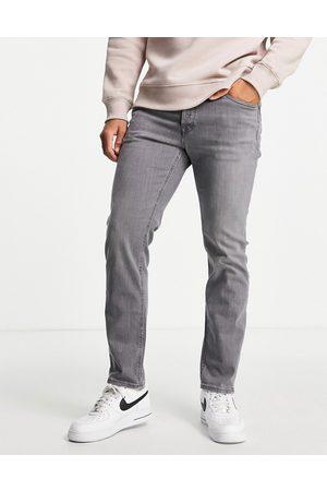 JACK & JONES Intelligence Mike straight fit jeans in vintage in light grey