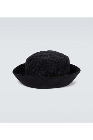 Fendi Hatter - FF wool bucket hat