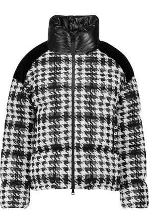 Moncler Erine checked puffer jacket