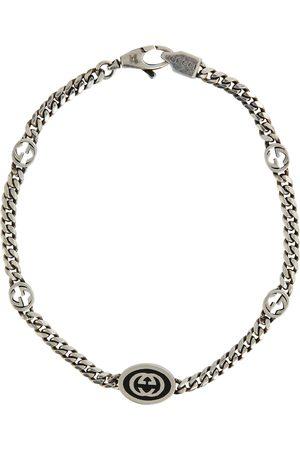 Gucci Armbånd - GG sterling silver chain-link bracelet