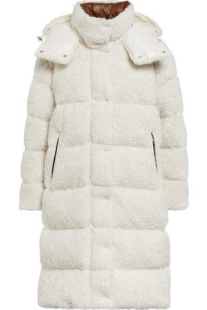 Moncler Hainardia faux fur down coat