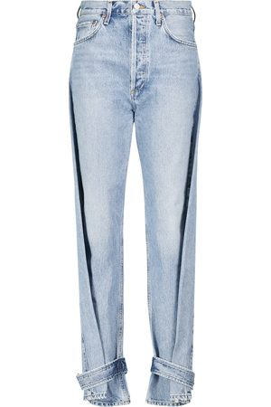 AGOLDE Cleo high-rise tapered jeans