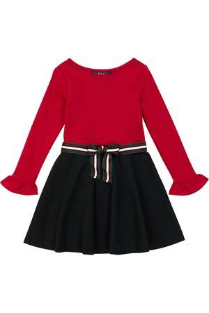 Ralph Lauren Cotton-blend ponte dress