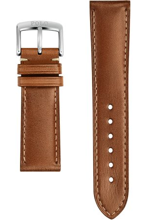Polo Ralph Lauren Herre Klokker - Sporting Leather Strap Used Burnished