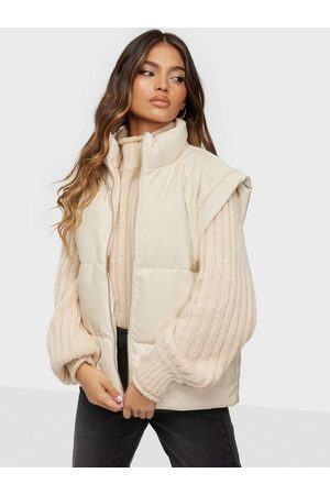 Missguided Dame Vester - Lipped Pu Gilet
