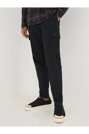 SELECTED Herre Cargobukser - Slhslimtapered-Gainford Cargo Pants Bukser Black