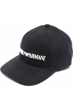 Emporio Armani Herre Capser - Embroidered-logo baseball cap