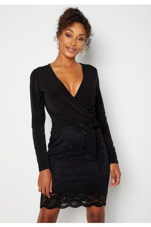 Happy Holly Ella Lace Dress Black 50