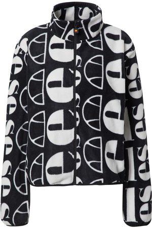 About You x Ellesse Dame Fleecejakker - Overgangsjakke 'Suzios Oversized Fleece Jacket